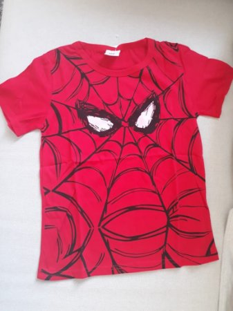 Camiseta Homem Aranha para Meninas - Olhos Rosa