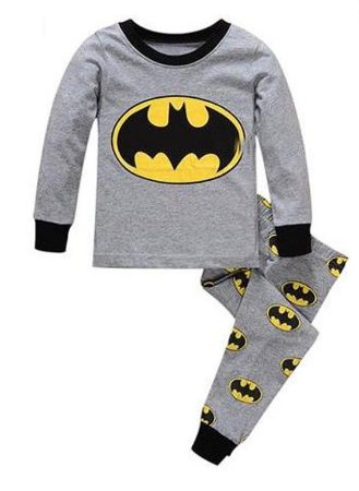 Pijama do Batman - Cinza