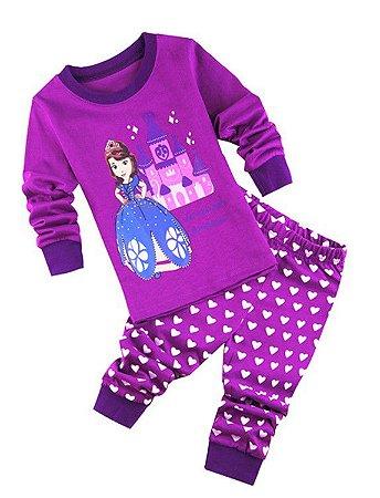 Pijama da Princesa Sofia - Roxo