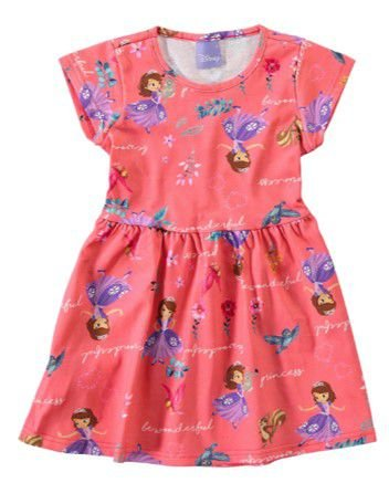 Vestido da Princesa Sofia - Malwee
