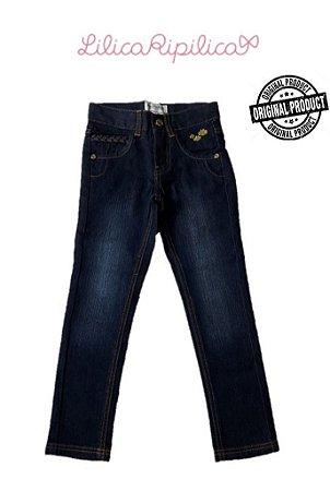 Calça Jeans Trançada - Lilica Ripilica