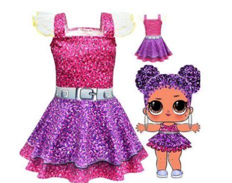 Vestido da LOL - Purple Queen