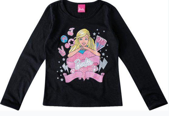 Blusa Barbie - Preta