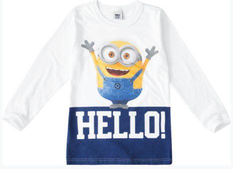 Camiseta Minions - Meu Malvado Favorito - Branca - Malwee
