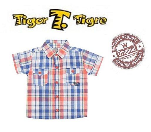 Camisa Tigor T Tigre Xadrez