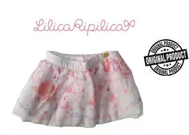 Mini Saia Lilica Ripilica - Branca