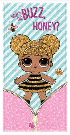 Toalha Felpuda LOL - Queen Bee