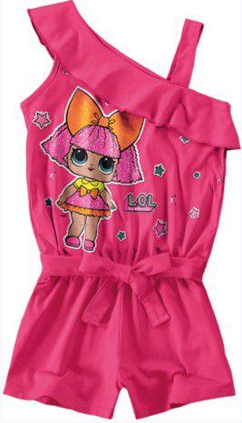 Macacão da LOL's Surprise - Glitter Queen - Rosa