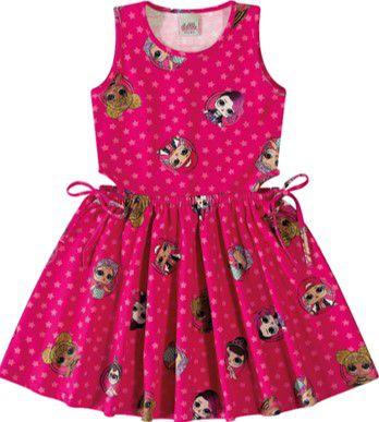 Vestido Infantil Lol Surprise - Rosa - Malwee