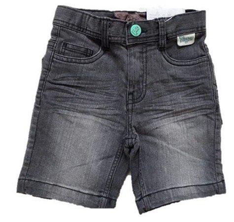 Bermuda Jeans Bebê Menino Cinza - Tigor T. Tigre Baby