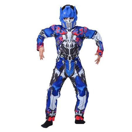 Fantasia Luxo do Optimus Prime - Transformers
