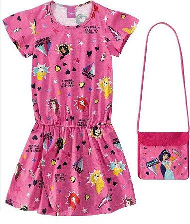 Vestido Princesas de Disney Com Bolsa - Jasmine