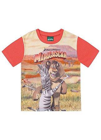 Camiseta Madagascar - Laranja - Fakini