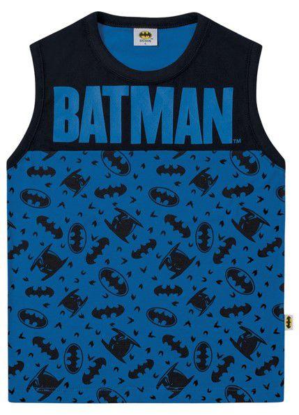 Regata Batman - Azul - Infantil - Fakini