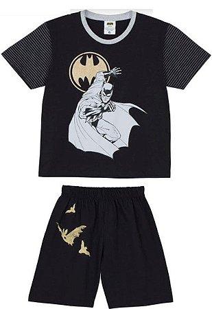 Pijama Infantil Batman Preto - Lupo