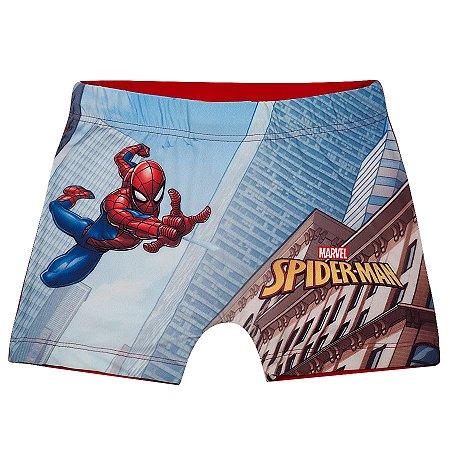 Sunga Boxer Homem Aranha - Vermelho