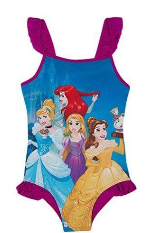 Maiô das Princesas da Disney  - Violeta - Tiptop