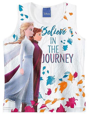 Blusa Frozen 2 - Disney -Branca - Malwee