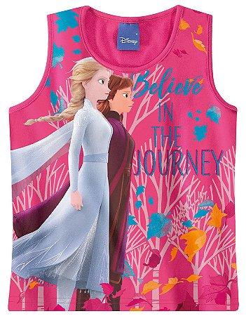 Blusa Frozen 2 - Disney - Rosa - Malwee