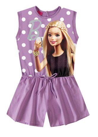 Macacão da Barbie - Lilás - Malwee