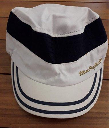 Chapéu Lilica Ripilica - Azul Marinho e Branco
