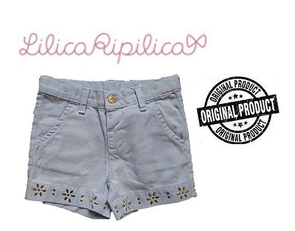 Shorts de Sarja Lilica Ripilica - Azul Claro