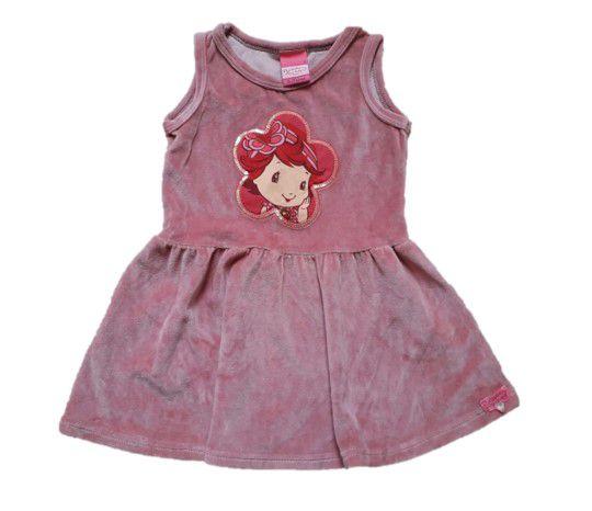 Vestido da Moranguinho - Rosa - Malwee