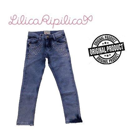 Calça Jeans com Strass - Lilica Ripilica