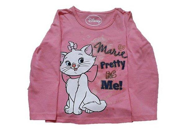 Blusa da Marie - Disney - Rosa - Brandili