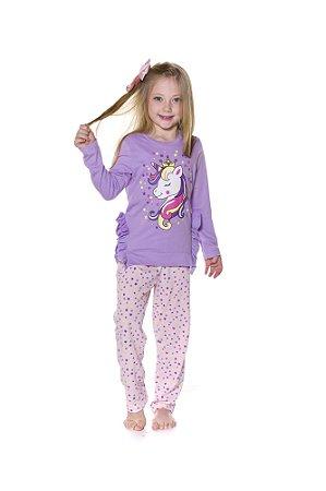 Pijama do Unicórnio - Estrelas