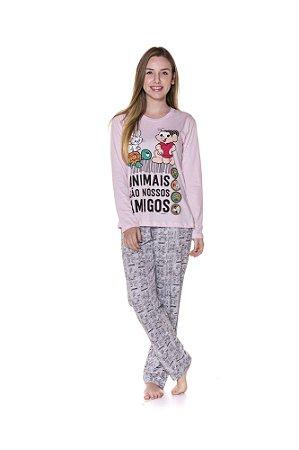 Pijama Turma da Mônica - Adulto