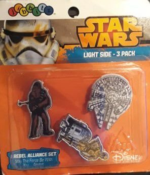 Jibbitz Crocs Star Wars Disney - Pins para Crocs