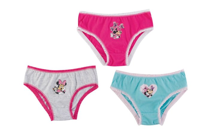 Kit de 3 Calcinhas da Minnie - Disney