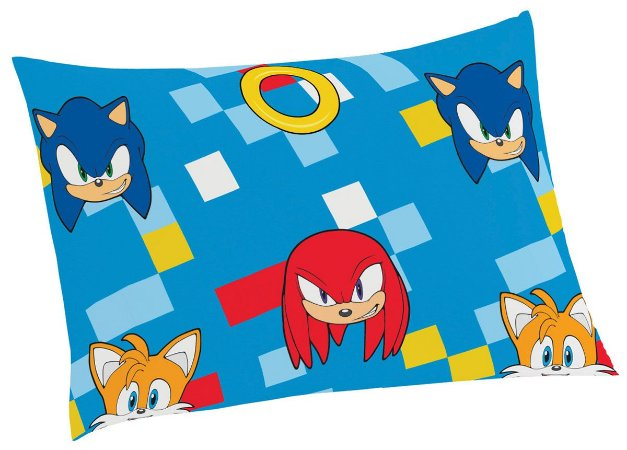 Fronha do Sonic -  Azul - Lepper