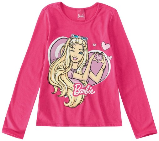 Blusa Barbie - Rosa