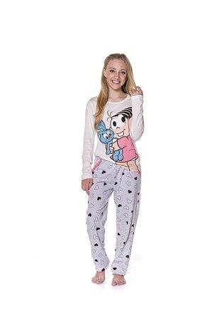 Pijama da Mônica e Sansão - Juvenil