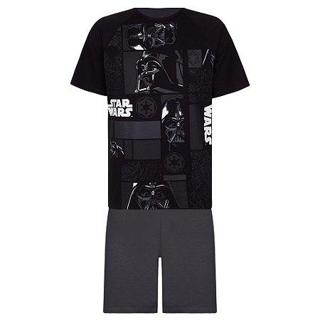 Pijama Adulto Star Wars do Darth Vader - Linha Urban - Lupo