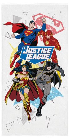 Toalha Aveludada do Liga da Justiça