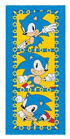 Toalha Felpuda do Sonic