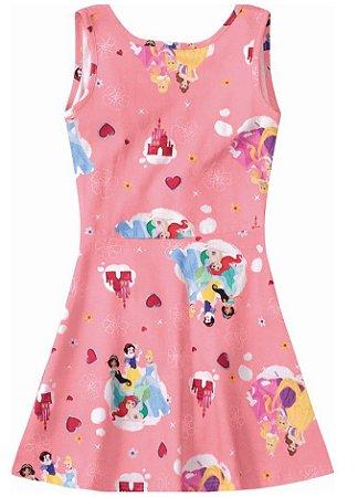 Vestido das Princesas da Disney