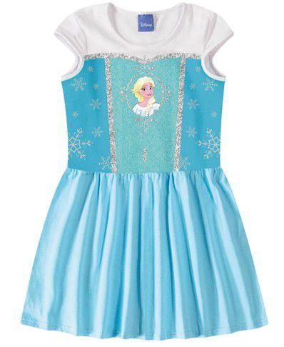 Vestido da Rainha Elsa  - Disney Frozen