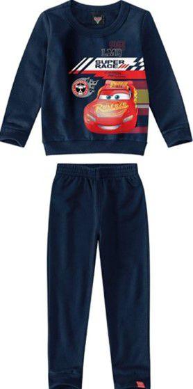 Conjunto Infantil Carros Azul Marinho - Malwee