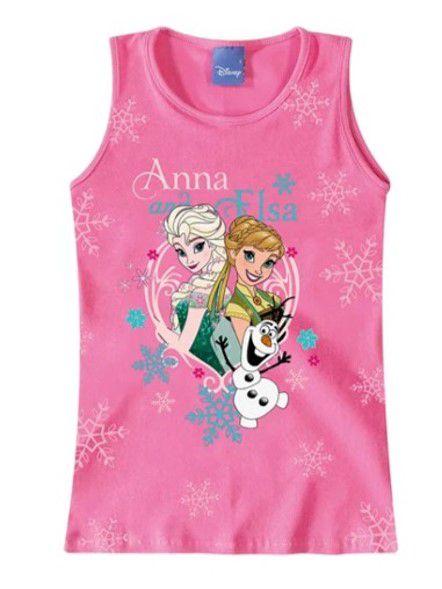 Blusa Infantil Frozen Rosa - Malwee