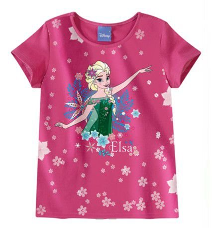 Blusa Frozen Elsa Disney - Rosa - Malwee
