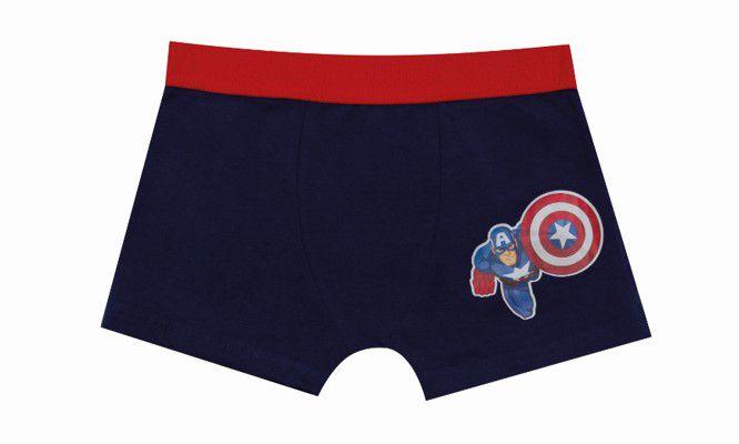 Cueca Boxer Capitão América - Marvel