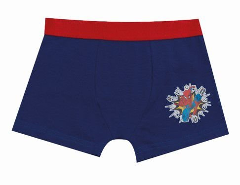 Cueca Boxer Homem Aranha - Azul Royal - Infantil