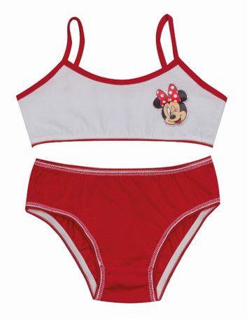 Conjunto de Top e Calcinha - Minnie - Disney