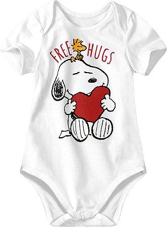 Body Snoopy - Branco - Malwee