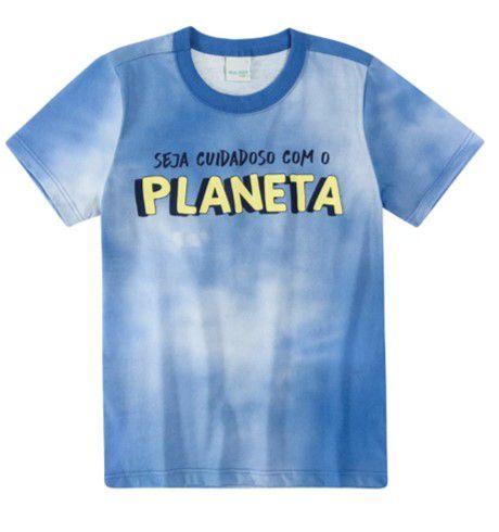 Camiseta Tie Dye - Azul - Malwee