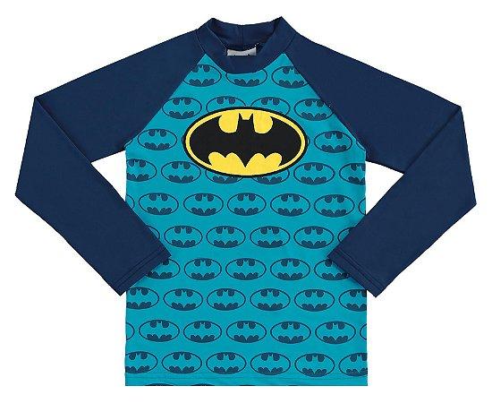 Camiseta Batman Proteção UV 50 FPS Azul - Marlan